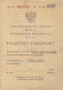 First page of Polish ID card/Passport issued in the 30s which can help you getting Polish Citizenship Certificate