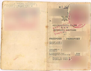 First page of Polish Passport which can help you getting Polish Citizenship Certificate