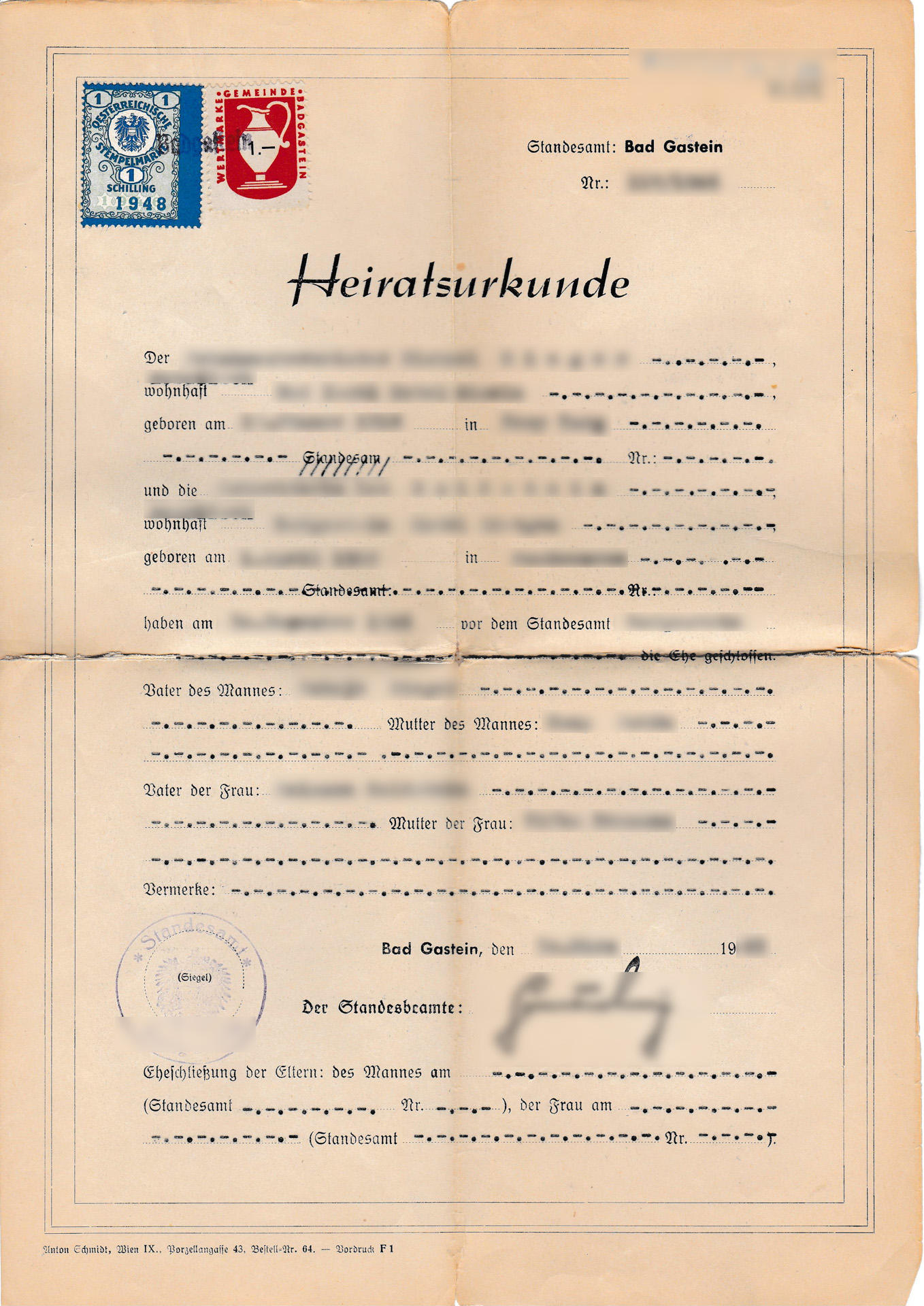German Marriage Certificate useful for Polish Citizenship ...