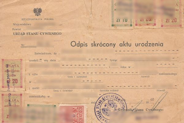 How to get Polish Citizenship Part 3 – Proving kinship with vital ...